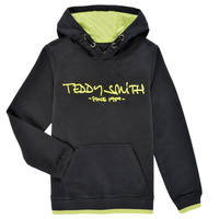 textil Pojkar Sweatshirts Teddy Smith SICLASS HOODY Svart