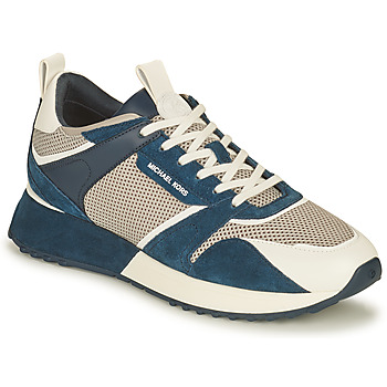 Skor Herr Sneakers MICHAEL Michael Kors THEO Marin / Vit