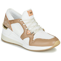 Skor Dam Sneakers MICHAEL Michael Kors LIV Kamel / Vit