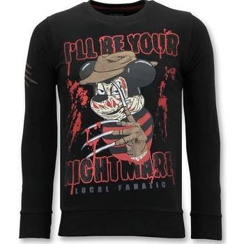 textil Herr Sweatshirts Lf 's Freddy Krueger Z Svart