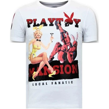 textil Herr T-shirts Lf The Playtoy Sion W Vit