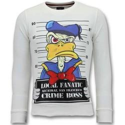 textil Herr Sweatshirts Lf Alcatraz Prisoner W Vit