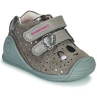 Skor Flickor Sneakers Biomecanics BIOGATEO CASUAL Mullvadsfärgad