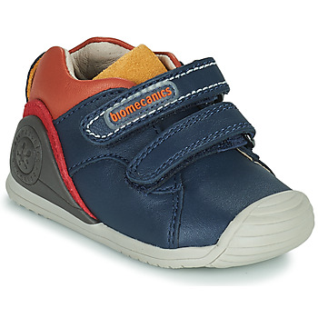 Skor Pojkar Sneakers Biomecanics BIOGATEO CASUAL Marin