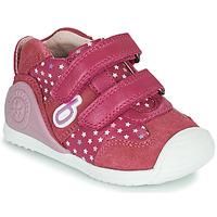Skor Flickor Sneakers Biomecanics BIOGATEO SPORT Rosa