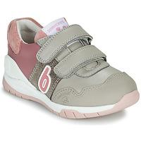Skor Flickor Sneakers Biomecanics BIOEVOLUTION SPORT Grå / Rosa