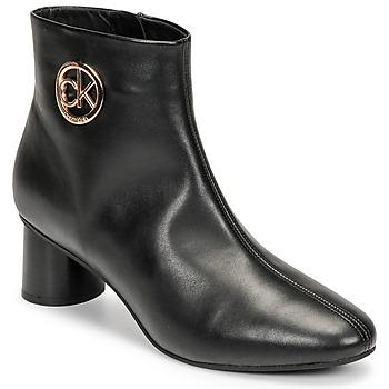 Skor Dam Boots Calvin Klein Jeans CYLINDER ANKLE BOOT Svart