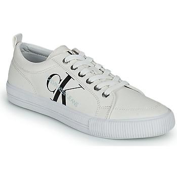 Skor Dam Sneakers Calvin Klein Jeans VULCANIZED LACEUP SNEAKER Vit