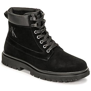 Skor Herr Boots Calvin Klein Jeans LUG MID LACEUP BOOT HIKE Svart