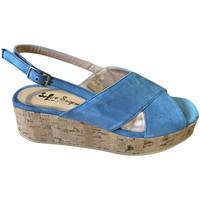 Skor Dam Sandaler Soffice Sogno SOSOE21791sky blu