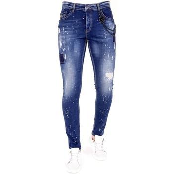 textil Herr Stuprörsjeans Lf Jeans För  Bla Blå