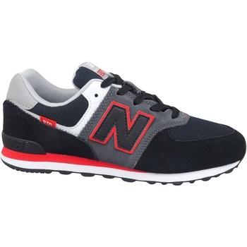 Skor Barn Sneakers New Balance 574 Svarta, Gråa