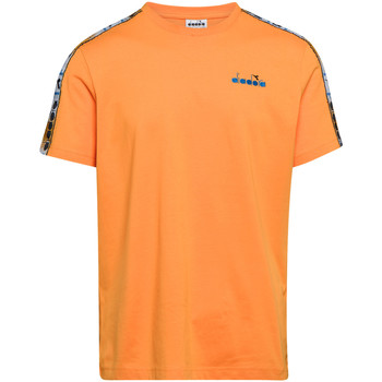 textil Herr T-shirts Diadora 502176085 Orange