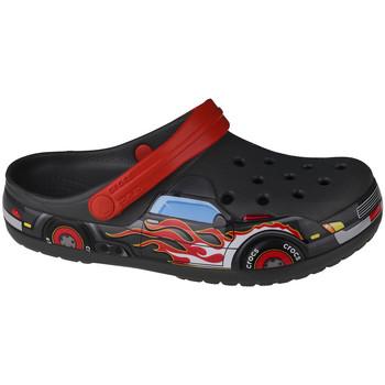 Skor Barn Träskor Crocs Fun Lab Truck Band Clog Grise