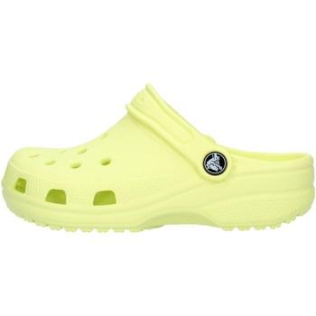 Skor Pojkar Träskor Crocs 204536 Lime green
