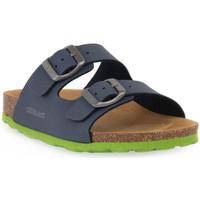 Skor Sandaler Grunland BLU LIME 40LUCE Blu