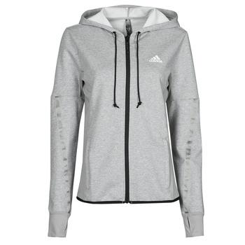textil Dam Sweatjackets adidas Performance METRED Ljung / Grå