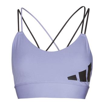 textil Dam Sport-BH adidas Performance AMEBAR Violett