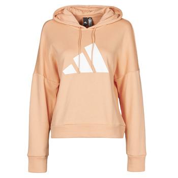 textil Dam Sweatshirts adidas Performance WIFIEB HOODIE Blush