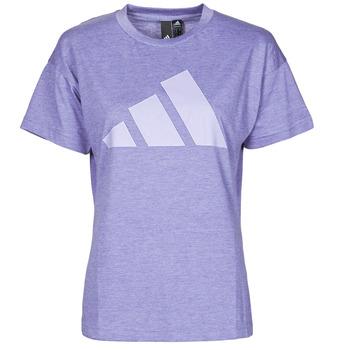 textil Dam T-shirts adidas Performance WEWINTEE Violett / Mel