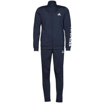 textil Herr Sportoverall adidas Performance M LIN TR TT TS Bläckfärgad / Legend