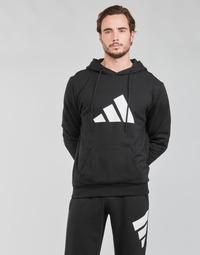 textil Herr Sweatshirts adidas Performance M FI 3B HOODIE Svart
