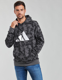 textil Herr Sweatshirts adidas Performance M FI CAMO HOODY Flerfärgad