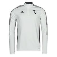 textil Sweatjackets adidas Performance JUVE TR TOP Vit / Essentiel