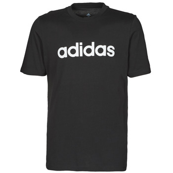 textil Herr T-shirts adidas Performance M LIN SJ T Svart
