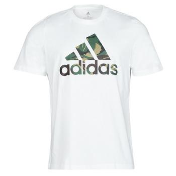 textil Herr T-shirts adidas Performance M CAMO T Vit