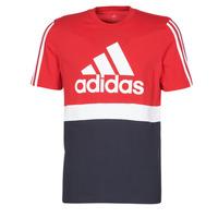 textil Herr T-shirts adidas Performance M CB T Röd