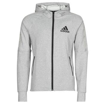 textil Herr Sweatjackets adidas Performance M MT FZ HD Ljung / Grå