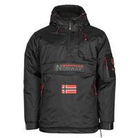 textil Herr Parkas Geographical Norway BARKER Svart