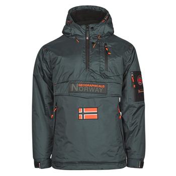 textil Herr Parkas Geographical Norway BARKER Grå / Mörk