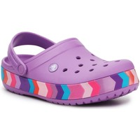 Skor Barn Träskor Crocs Chevron Beaded Clog K 207007-5PR purple