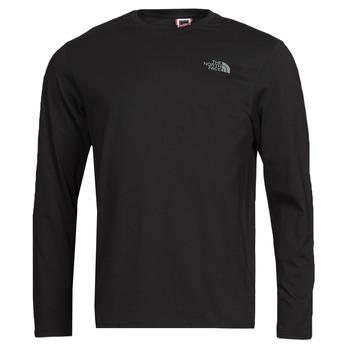 textil Herr Långärmade T-shirts The North Face L/S EASY TEE Svart