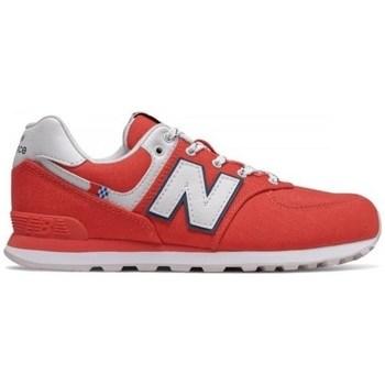 Skor Barn Sneakers New Balance 574 Röda