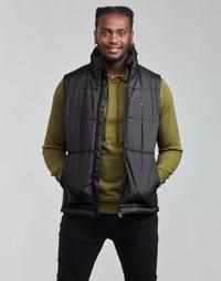 textil Herr Täckjackor adidas Originals PADDED VEST Svart