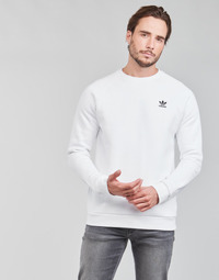 textil Herr Sweatshirts adidas Originals ESSENTIAL CREW Vit