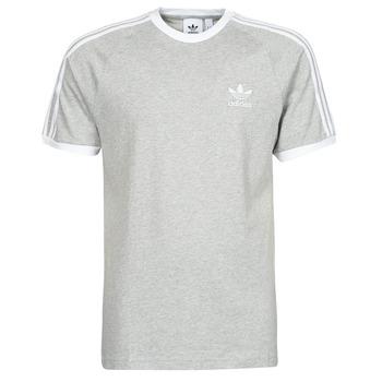 textil Herr T-shirts adidas Originals 3-STRIPES TEE Ljung / Grå
