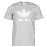 textil Herr T-shirts adidas Originals TREFOIL T-SHIRT Ljung / Grå