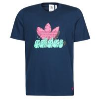 textil Herr T-shirts adidas Originals 6 AS TEE Blå / Marin
