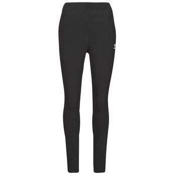 textil Dam Leggings adidas Originals TIGHT Svart