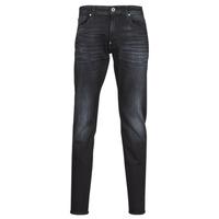 textil Herr Skinny Jeans G-Star Raw REVEND SKINNY Svart