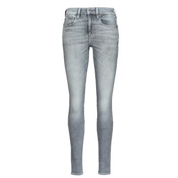textil Dam Skinny Jeans G-Star Raw LHANA SKINNY Grå