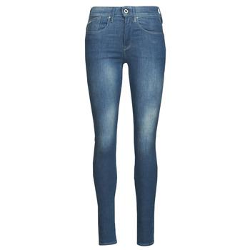 textil Dam Skinny Jeans G-Star Raw LHANA SKINNY Blå