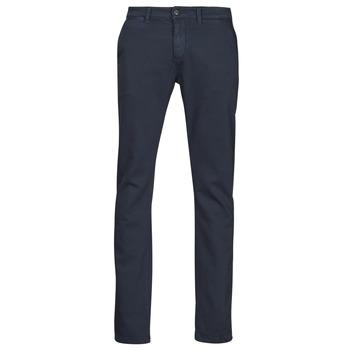 textil Herr Chinos / Carrot jeans Le Temps des Cerises JHKURT Blå