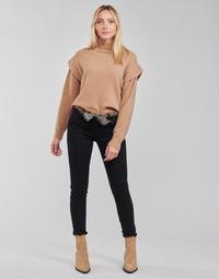 textil Dam Chinos / Carrot jeans Le Temps des Cerises LIDY901 Svart