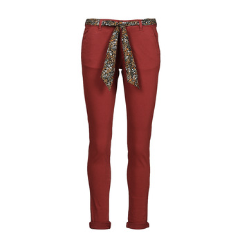 textil Dam Chinos / Carrot jeans Le Temps des Cerises LIDY900 Bordeaux