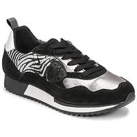 Skor Dam Sneakers Philippe Morvan ROX Svart / Silver